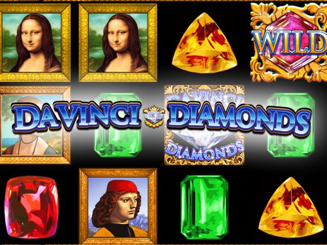 Davinci Diamonds Slot IGT