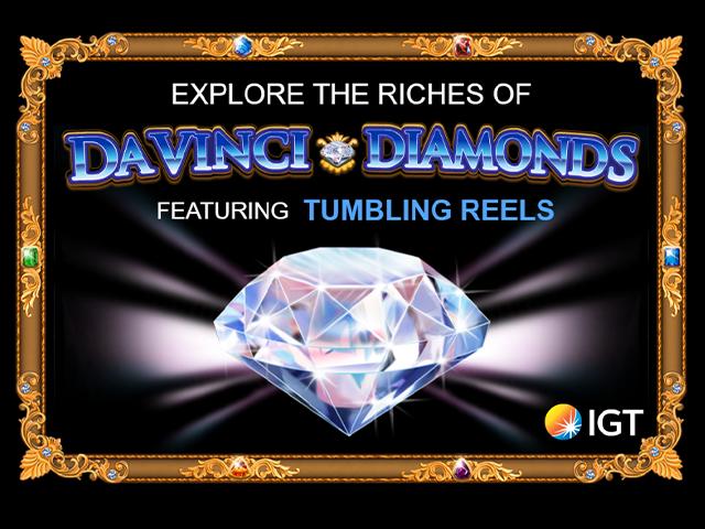 Davinci Diamonds Slot Paytable IGT