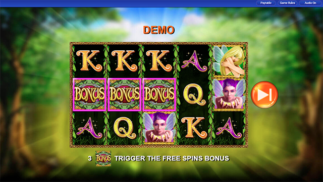 Pixies of the Forest Slot Free Spins
