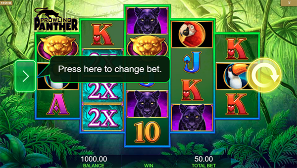 Prowling Panther Casino Game